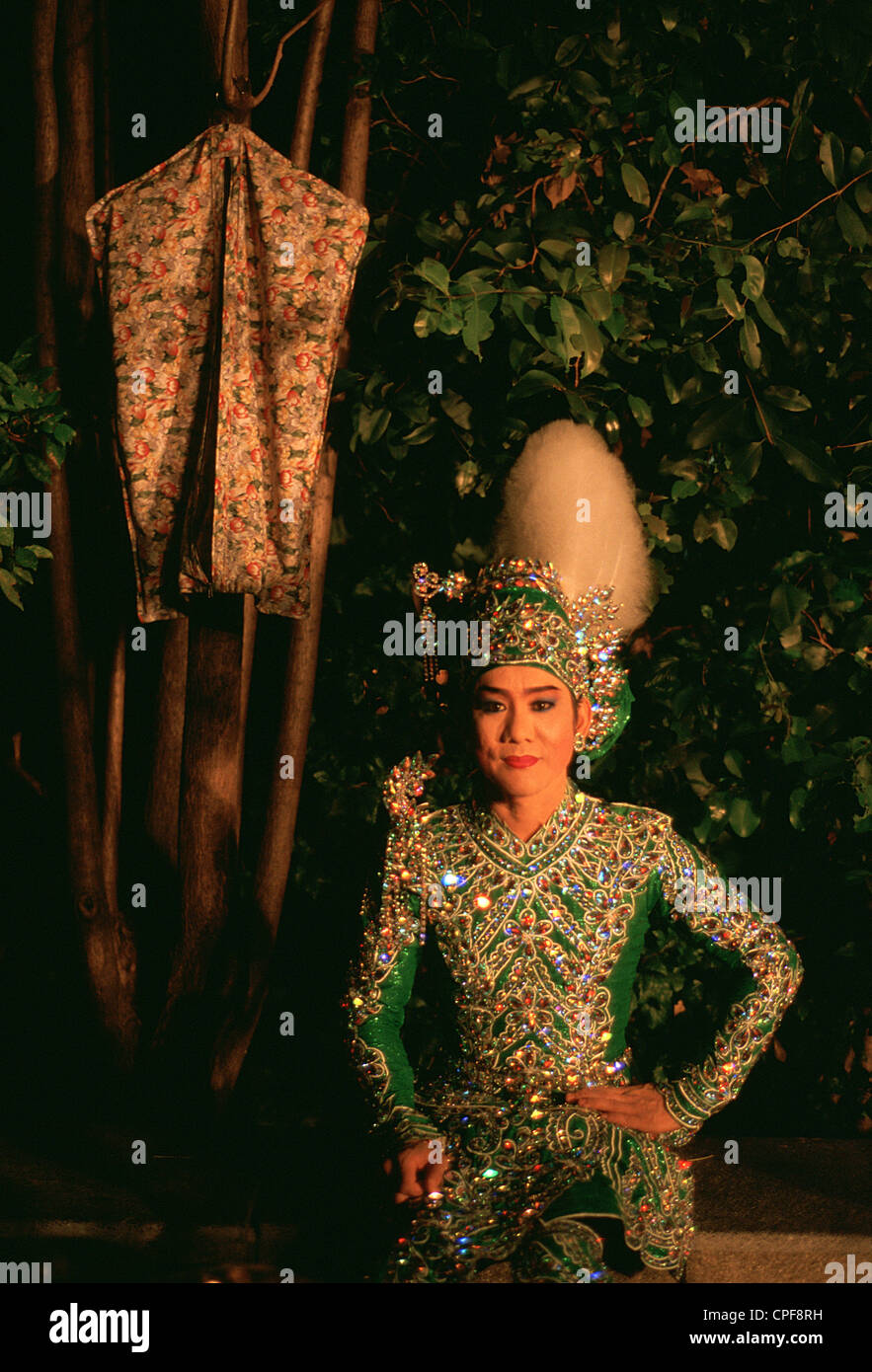 Actress playing Khon, a thai traditional drama ( Thailand