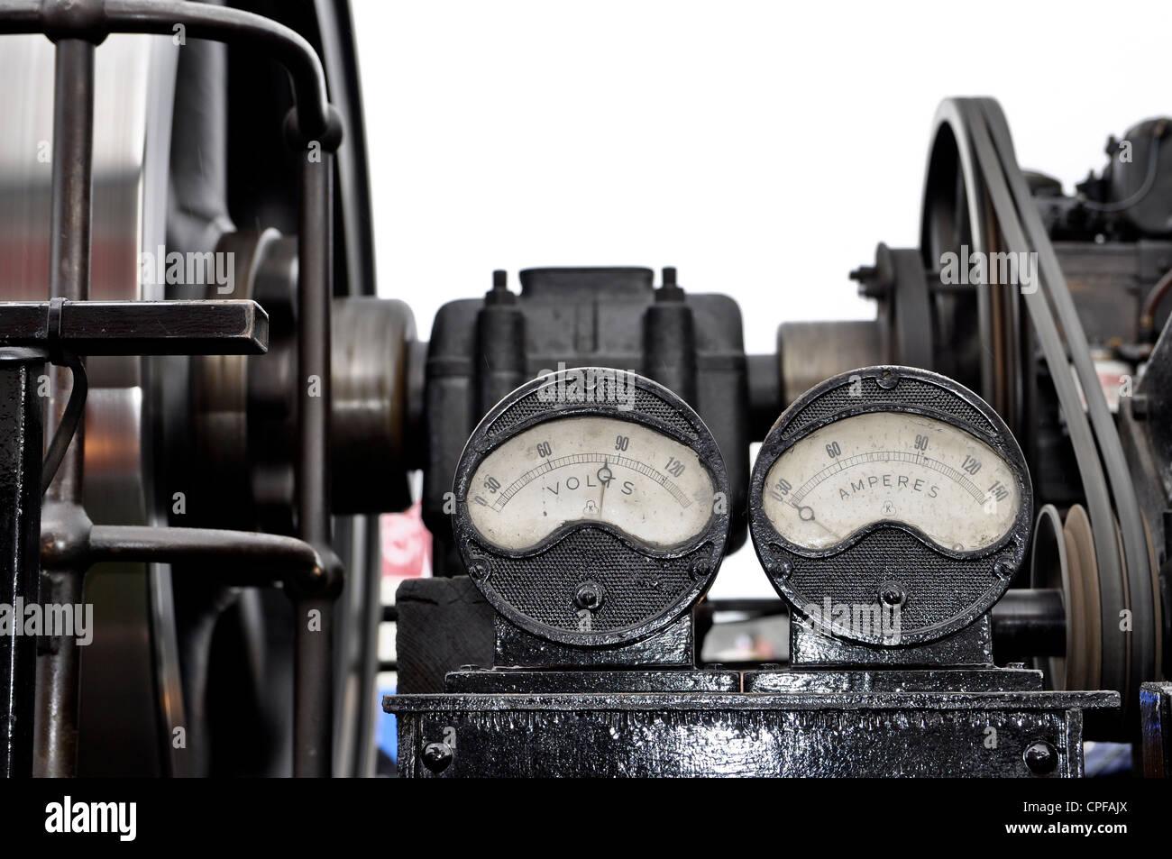 1926 Ruston engine - Stock Image