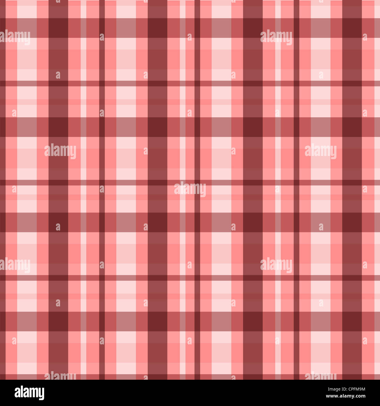 Plaid pattern in brown and pink colors Stock Photo