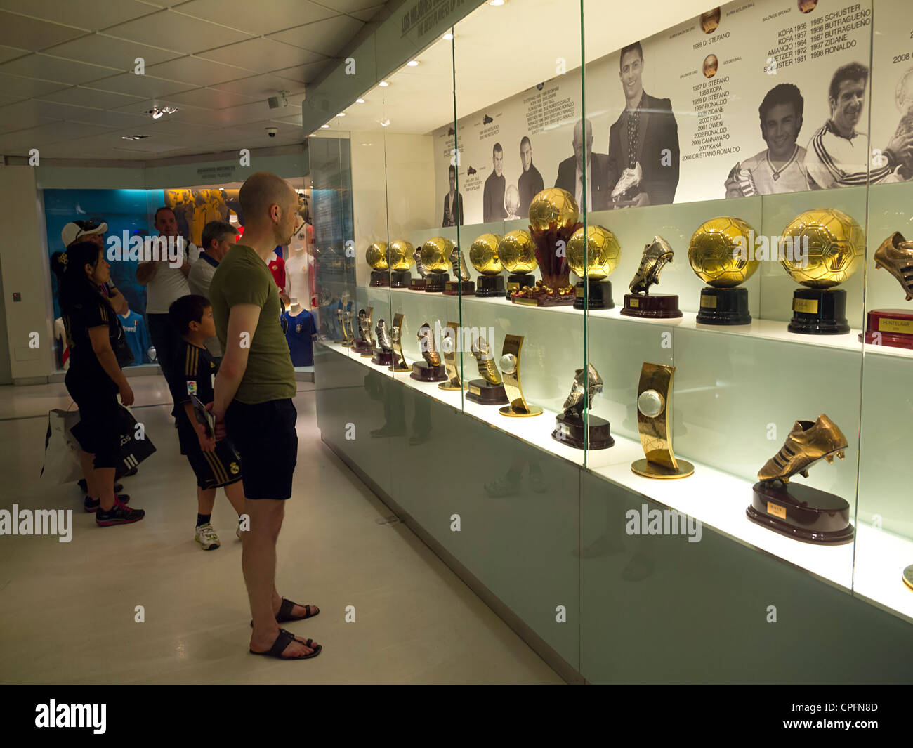 Museo Real Madrid.Real Madrid Museum Stock Photos Real Madrid Museum Stock Images