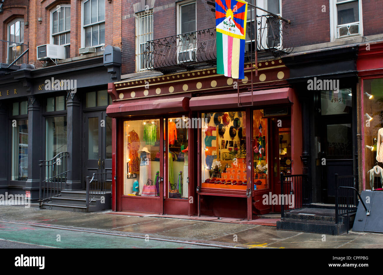 The Do Kham shop in NYC featuring items from Tibet - Stock Image