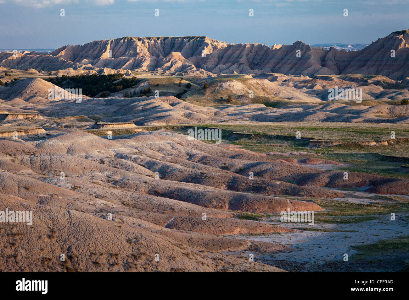 Badlands National Park, South Dakota, USA - Stock Image