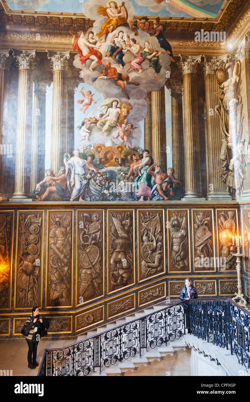 England, London, Surrey, Hampton Court Palace, William III\'s Stock ...