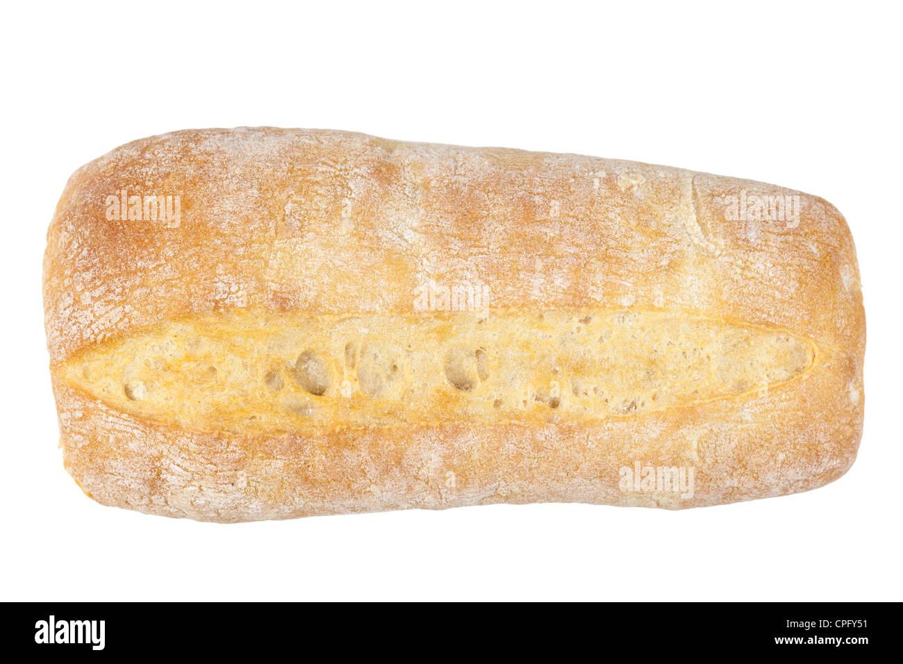 Ciabatta bread roll - Stock Image