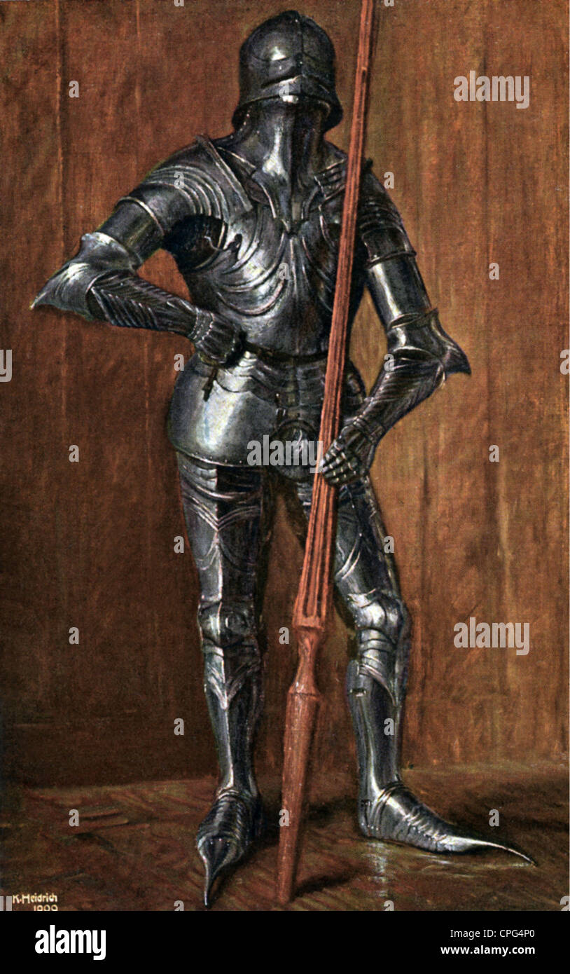 Military middle ages knight in gothic armour 15th for Where to buy photography