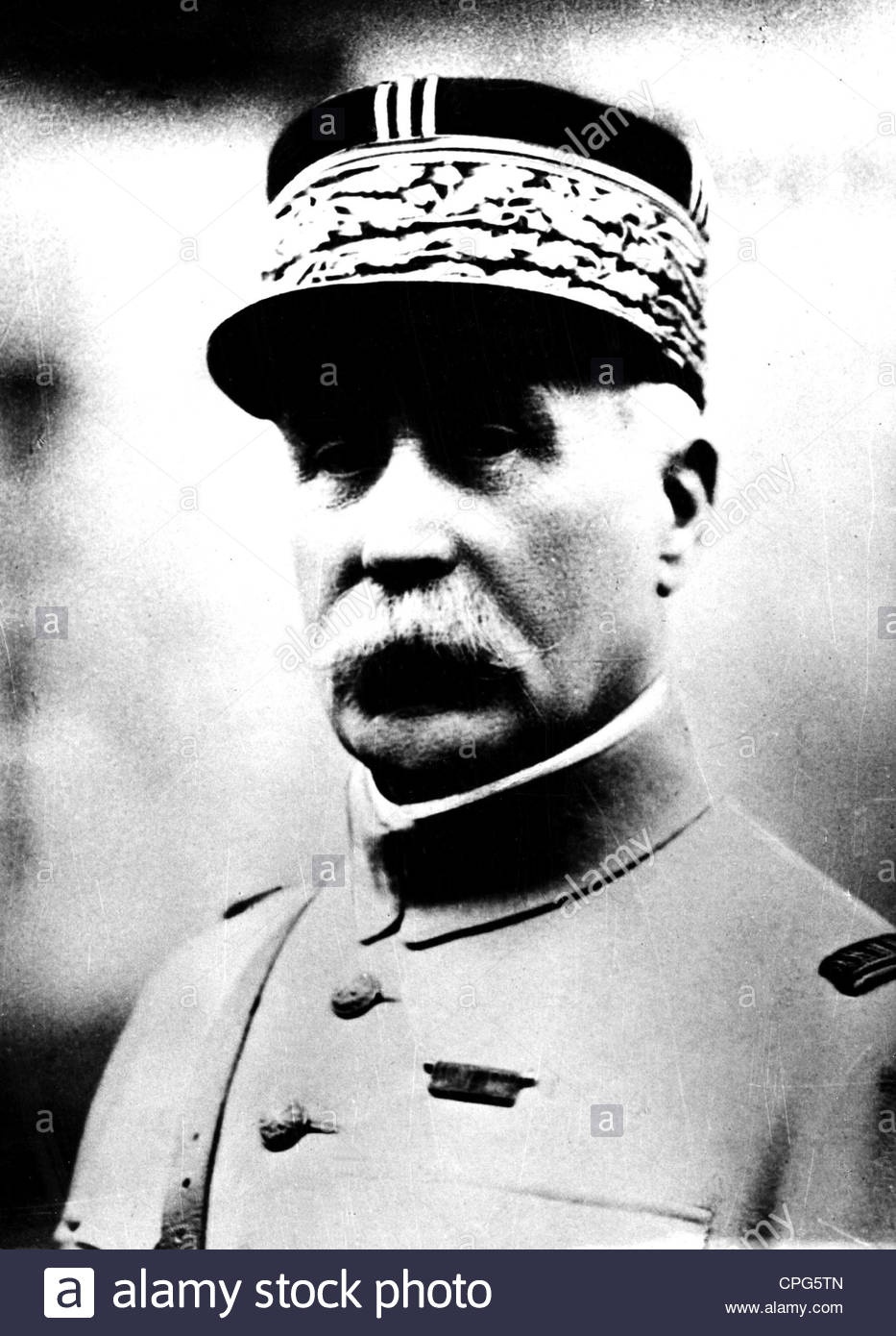 Petain, Henri Philippe, 24.4.1856 - 23.7.1953, French general and politician, commander in chief of the French army - Stock Image