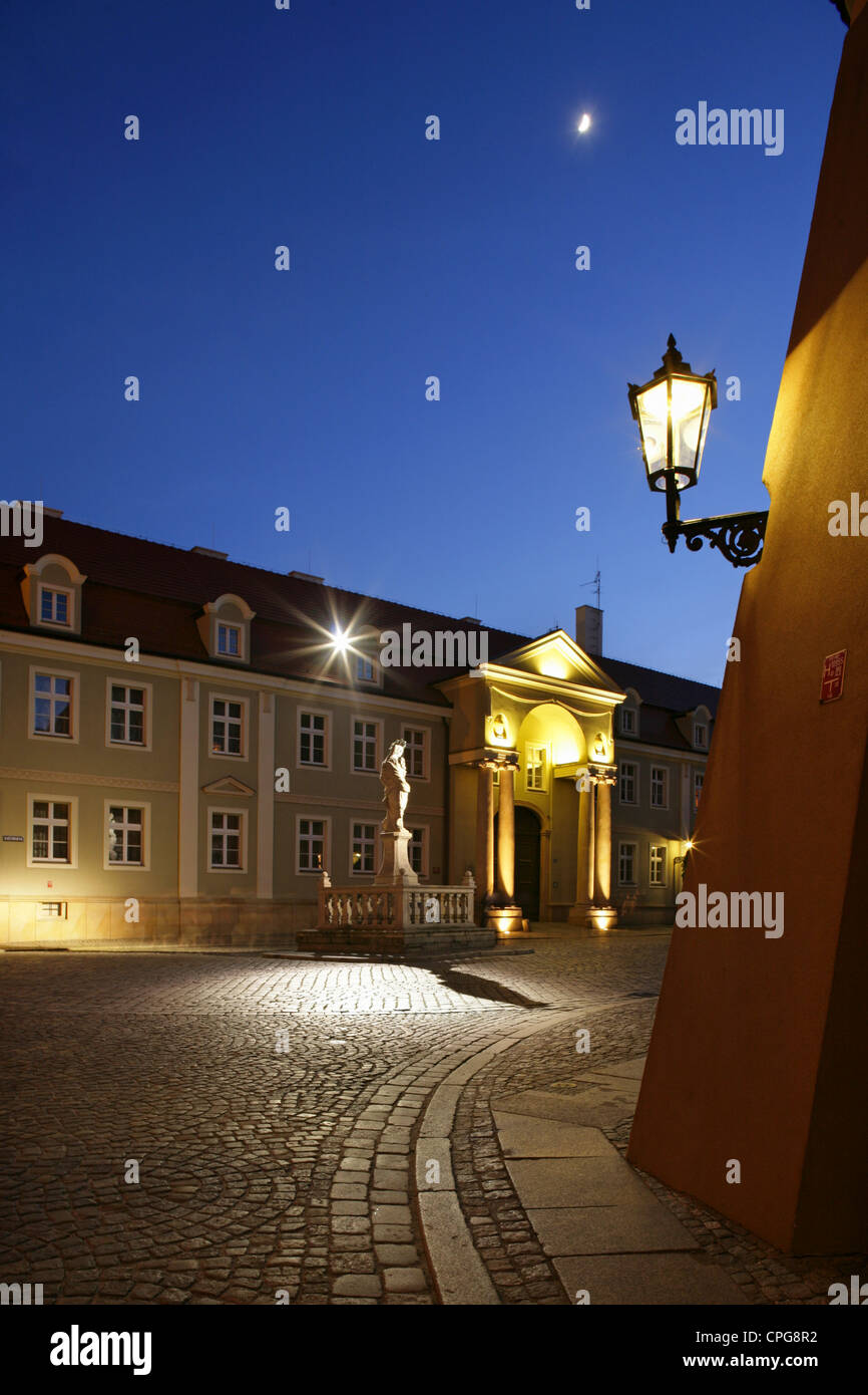 Cathedral Square, Wroclaw (Breslau), Poland. - Stock Image