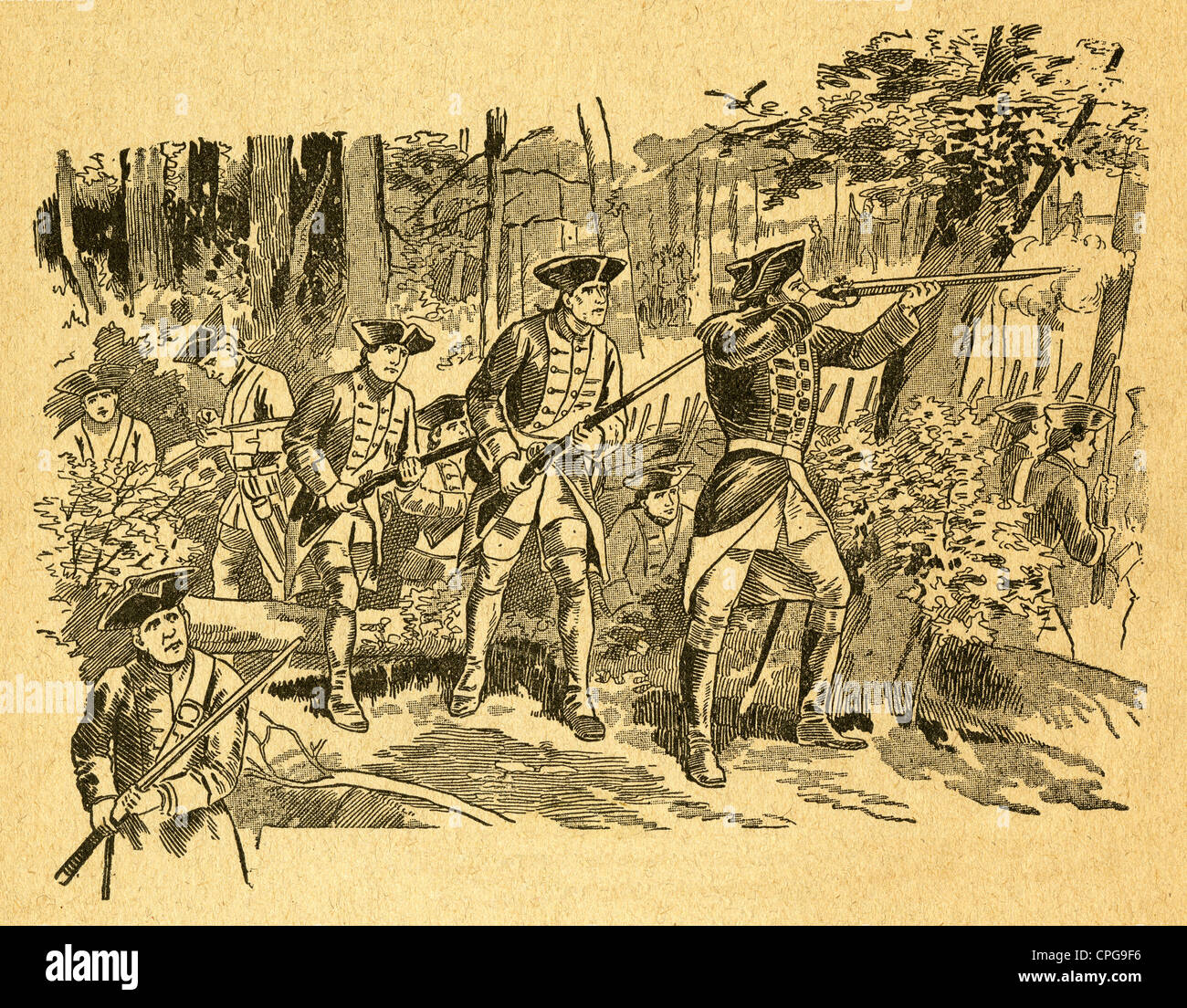french and indian war coloring pages.html