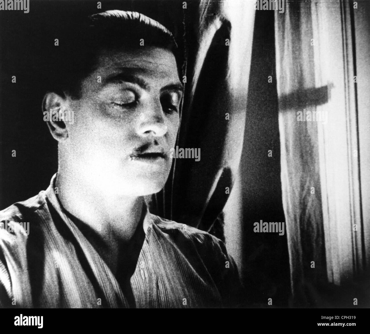 UN CHIEN ANDALOU (1929) PIERRE BATCHEFF LUIS BUNUEL (DIR) 008 MOVIESTORE COLLECTION LTD - Stock Image