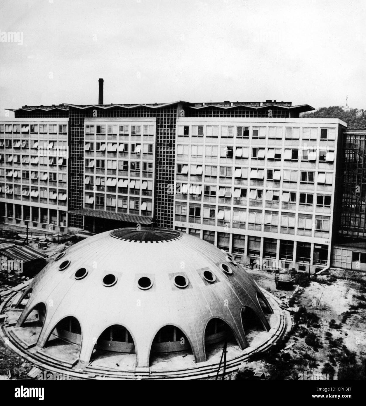 science, nuclear physics, nuclear reactor of the Eotvos Lorand University, Budapest, Hungary, 1960s, Additional Stock Photo