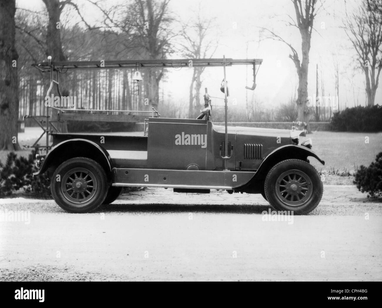 Fire, fire service, fire apparatus, Magirus Deutz 'Bayern' 1923, Additional-Rights-Clearences-NA - Stock Image