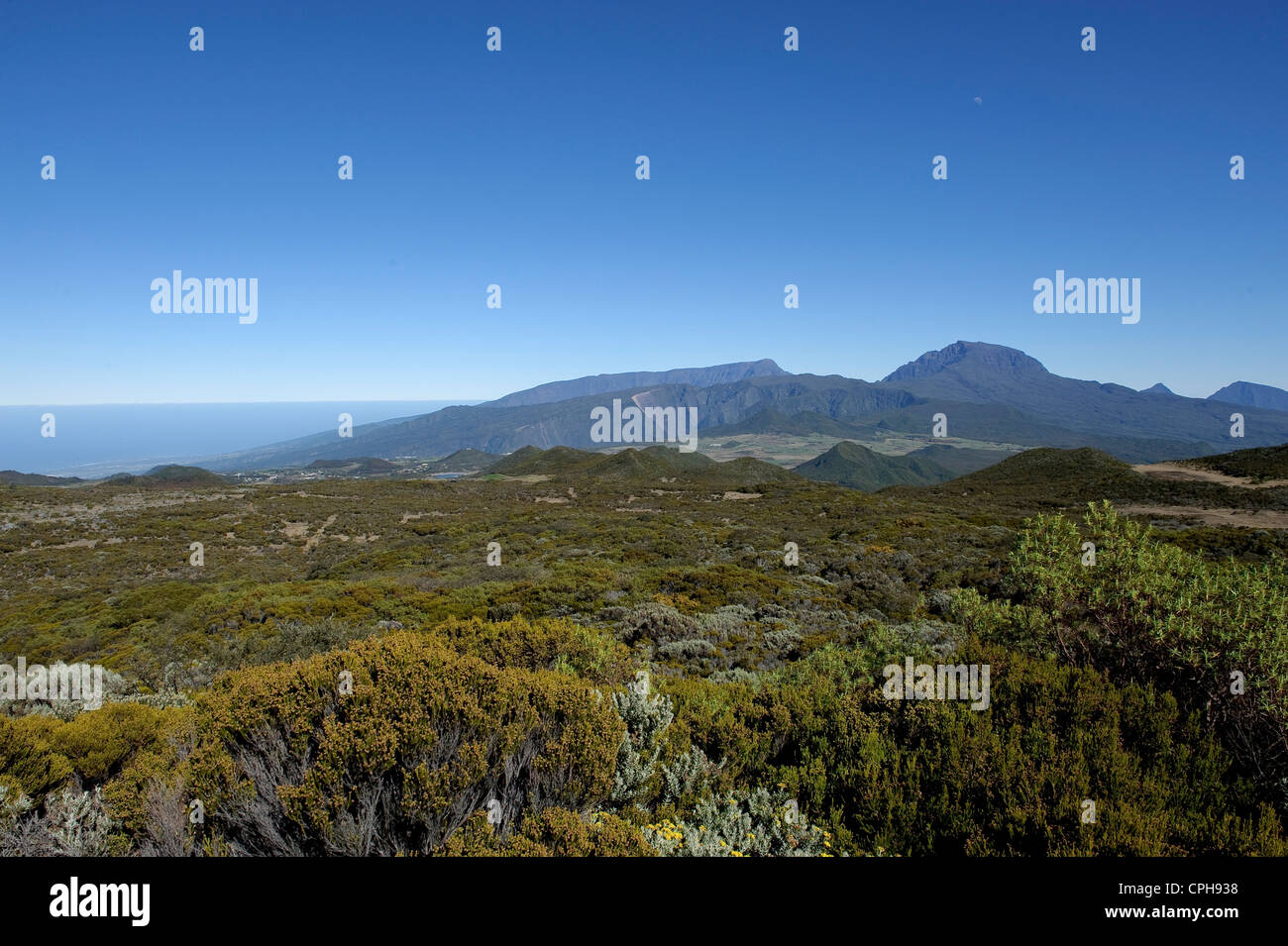 Scenery, volcanically, hollow, Africa, Indian ocean, La Reunion, - Stock Image