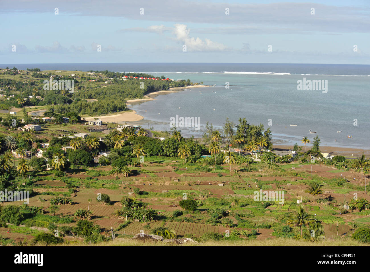 Maurice, Mauritius, Africa, Indian ocean, neighboring island Rodrigues, Rodrigues, scenery, sea - Stock Image