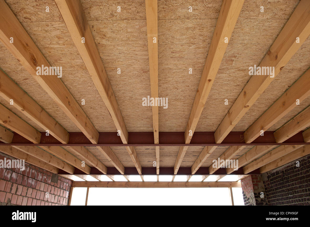how to build a wooden roof frame