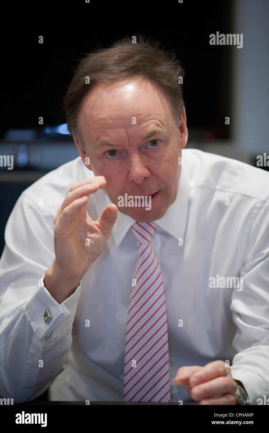Ian Robertson, head of sales and marketing of BMW and chairman of Rolls Royce Motor Cars Stock Photo