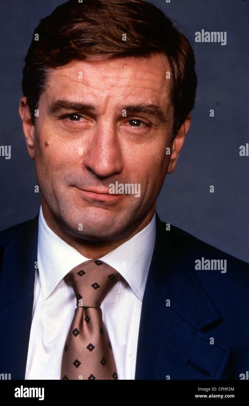 ROBERT DE NIRO US film actor about 1980 - Stock Image