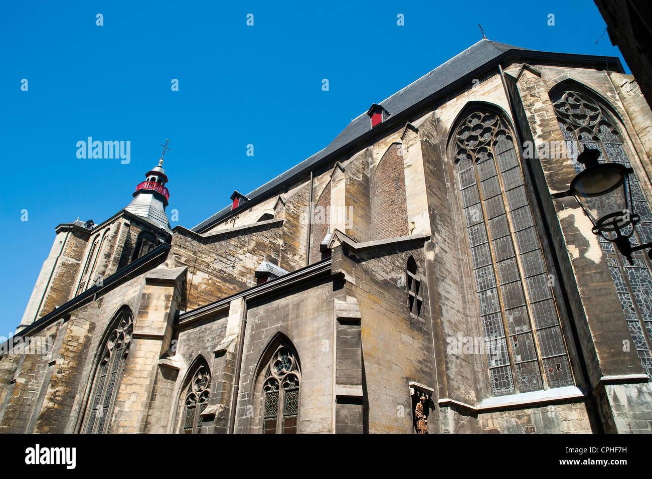Sint Matthias Kerk (Saint Matthew's church), Maastricht, Limburg, The Netherlands, Europe. Stock Photo