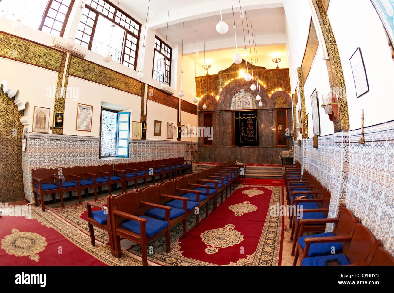 The Synagogue Marrakesh Morocco - Stock Image