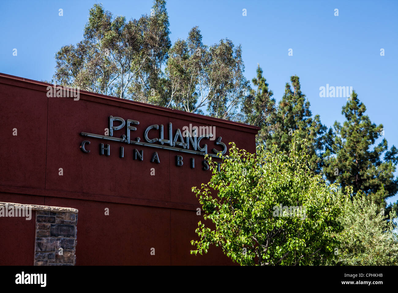 PF Chang's in Woodland Hills California Stock Photo