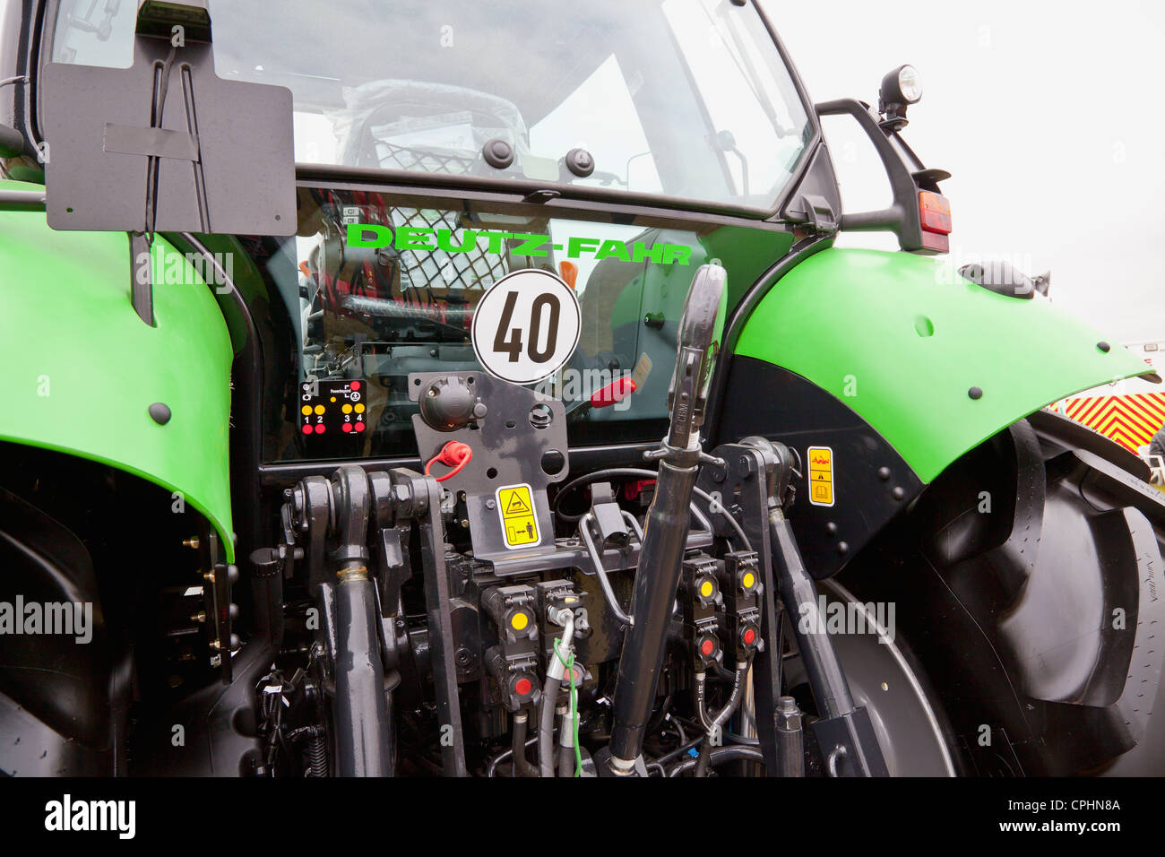 Deutz-Fahr tractor - Stock Image
