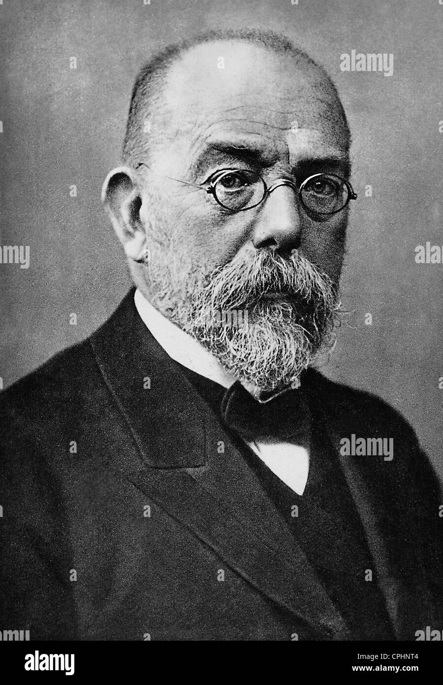 Dr Robert Koch, German bacteriologist - Stock Image