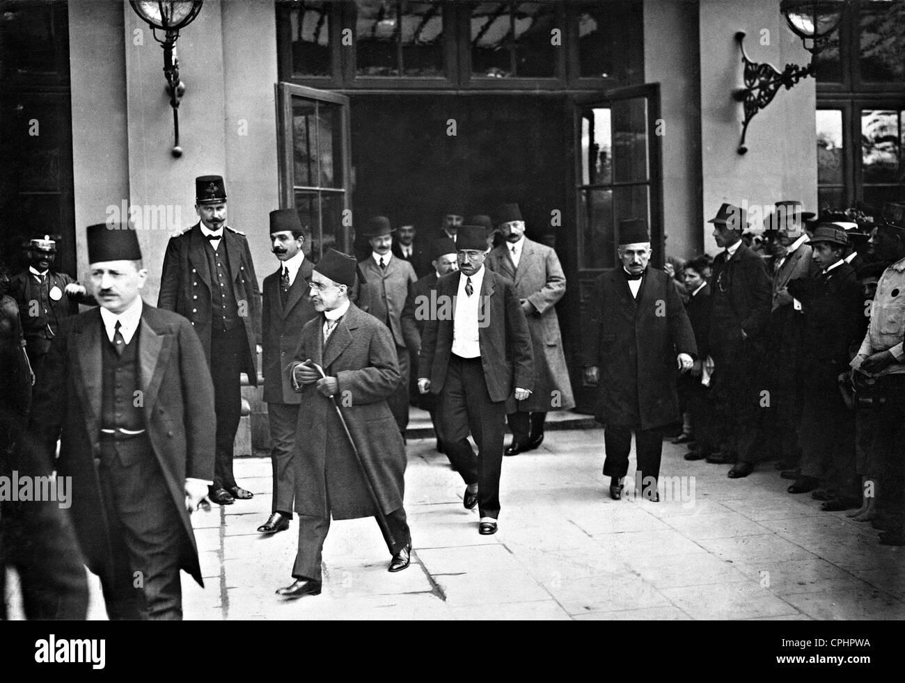 Prince Yusuf Izzedin-Effendi in Vienna, 1912 - Stock Image