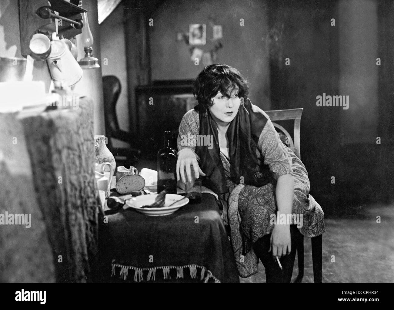 Trude Hesterberg in 'The Dangerous Age', 1927 - Stock Image