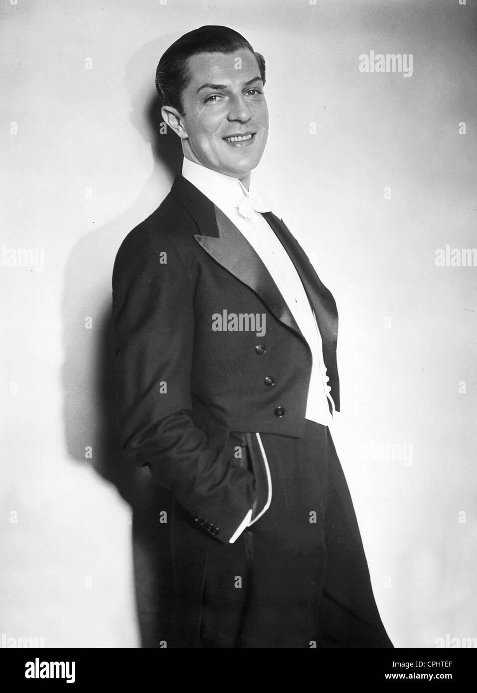 Viktor de Kowa in 'Spiel an Bord', 1936 - Stock Image