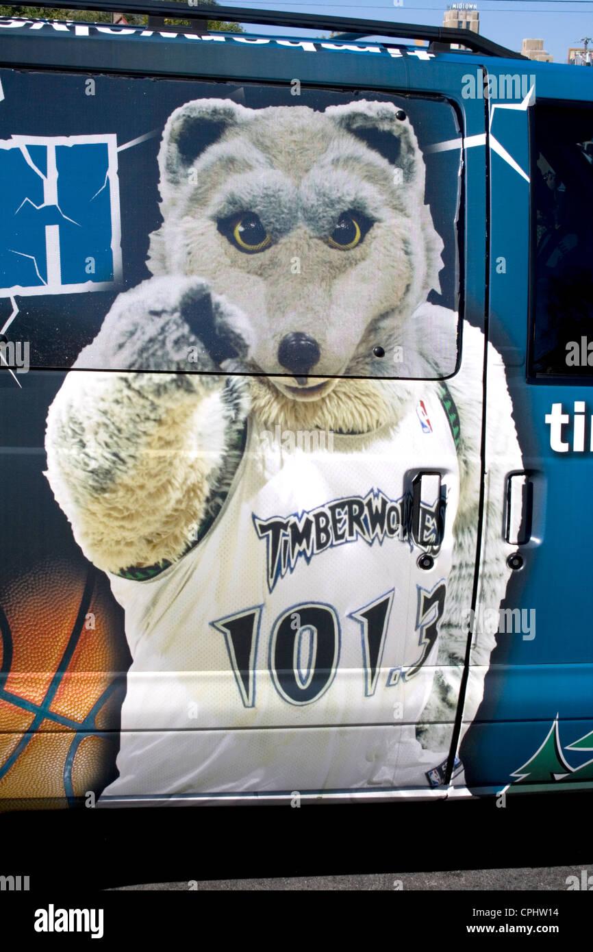 Professional NBA Basketball Team Minnesota Timberwolves