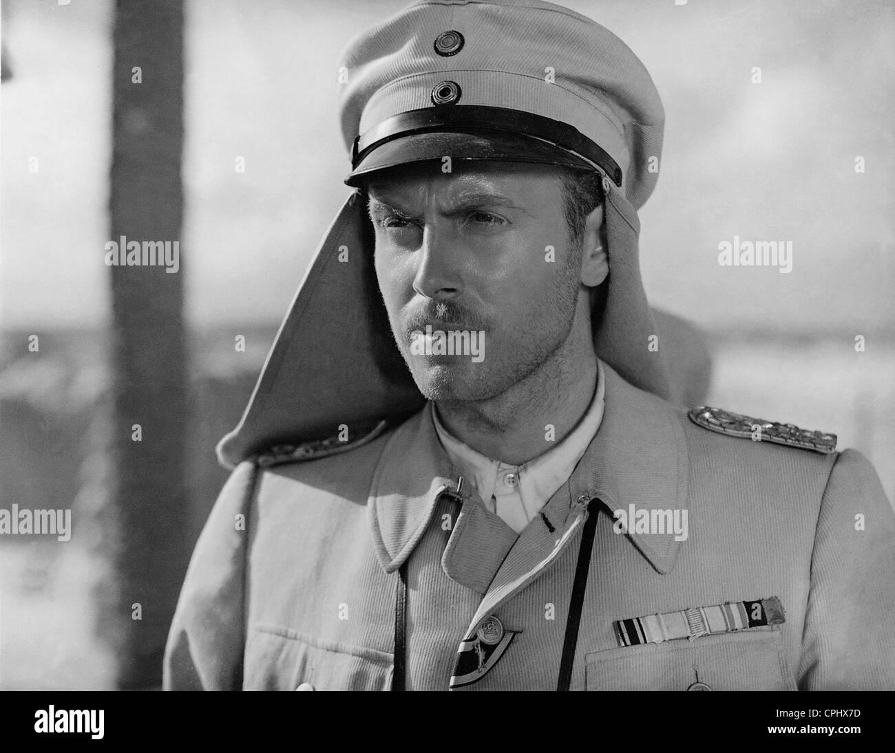 Hans Nielsen in 'Aufruhr in Damaskus', 1939 - Stock Image