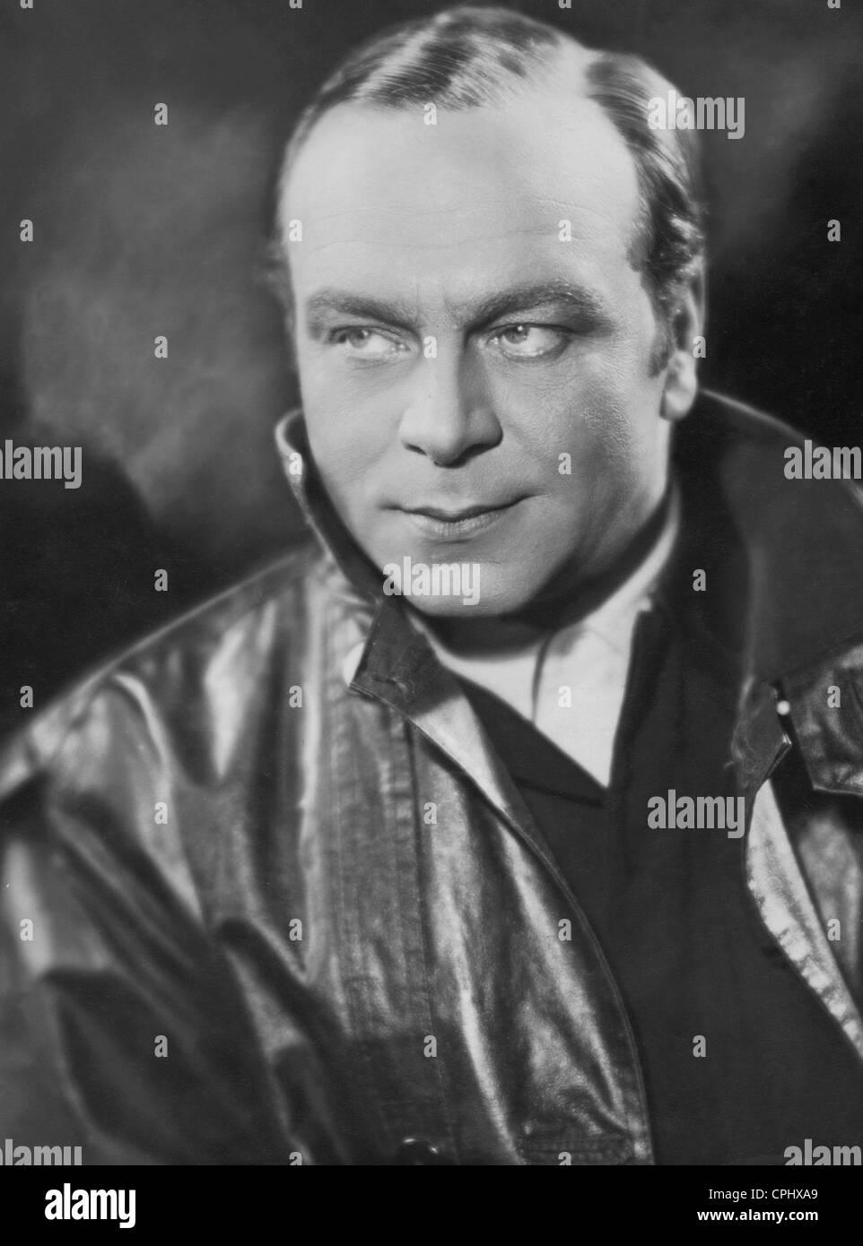 Paul Hartmann in 'F.P.1 antwortet nicht', 1932 - Stock Image