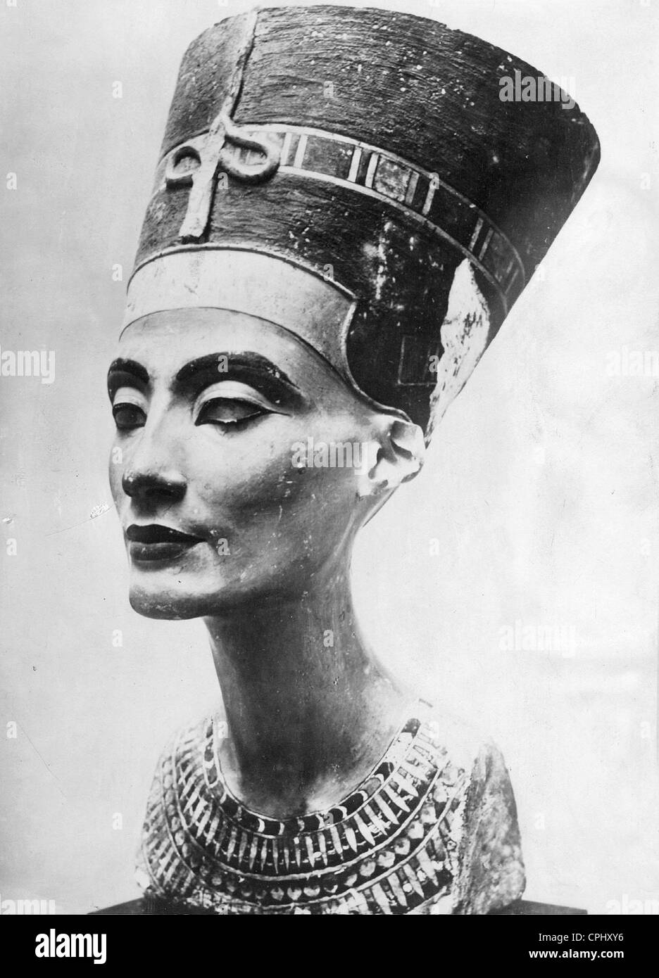Nefertiti, Egyptian queen in the 14th century BC - Stock Image