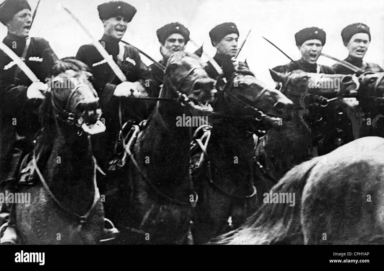 Budyonny's Cavalry - Stock Image