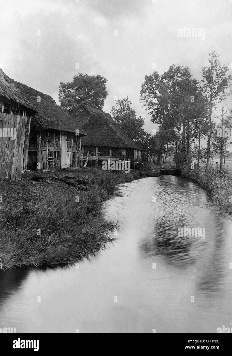 The artist colony Worpswede, 1903 - Stock Image