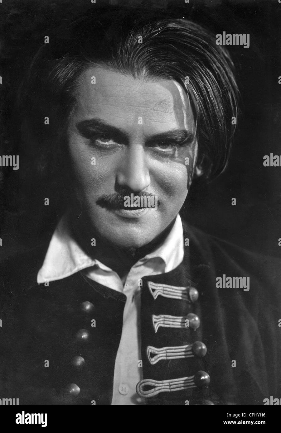 Adolf Wohlbrueck in 'The Gypsy Baron', 1935 - Stock Image