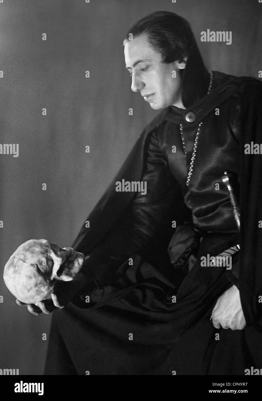 Willy Birgel in 'Hamlet', 1936 - Stock Image