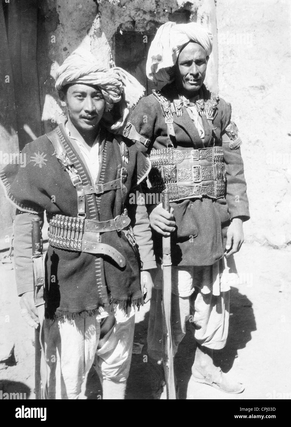 mongolian-ethnic-warriors-in-afghanistan