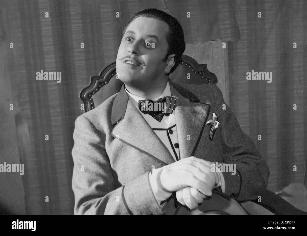 Paul Dahlke in 'Covered Tracks', 1938 - Stock Image