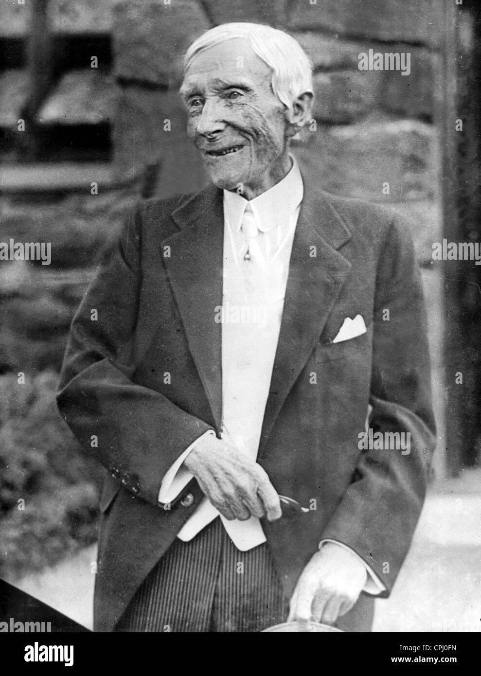 John Davidson Rockefeller, 1934 - Stock Image