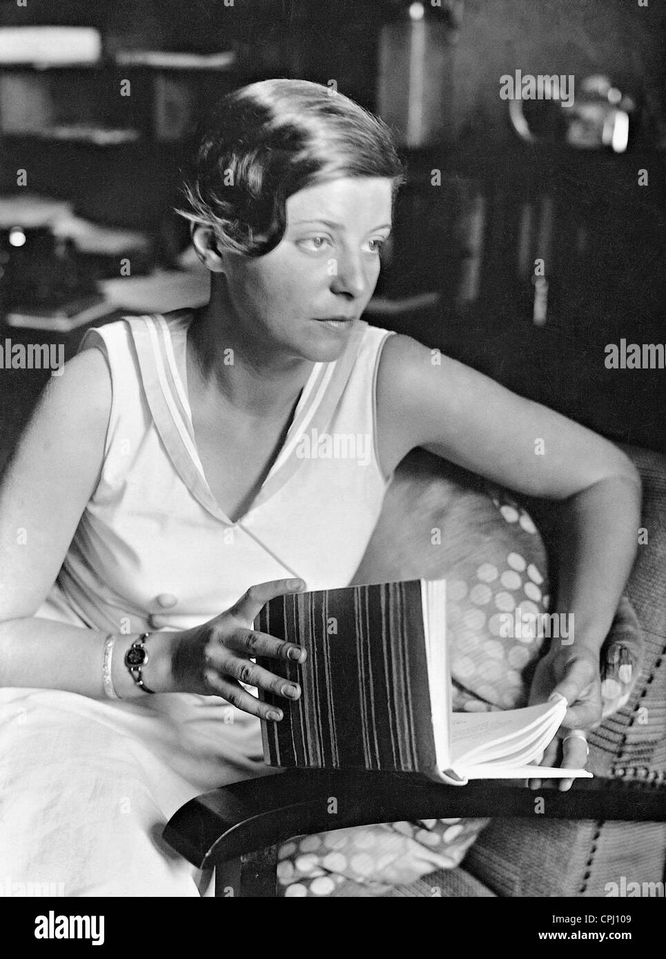 Elly Beinhorn, 1938 - Stock Image