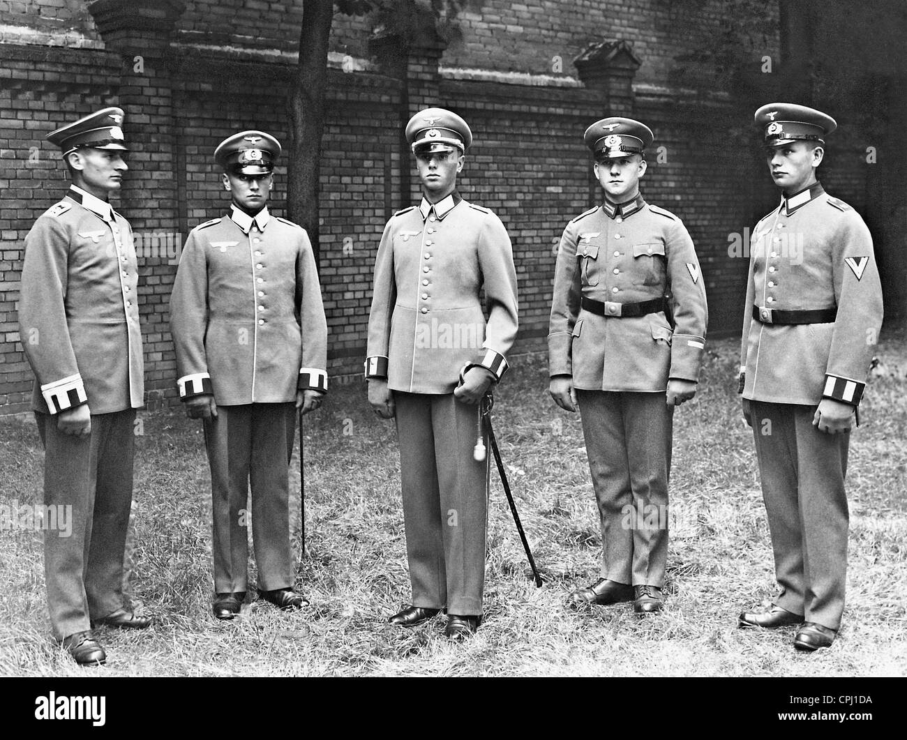 Presentation of the new uniforms of the Wehrmacht, 1935 - Stock Image