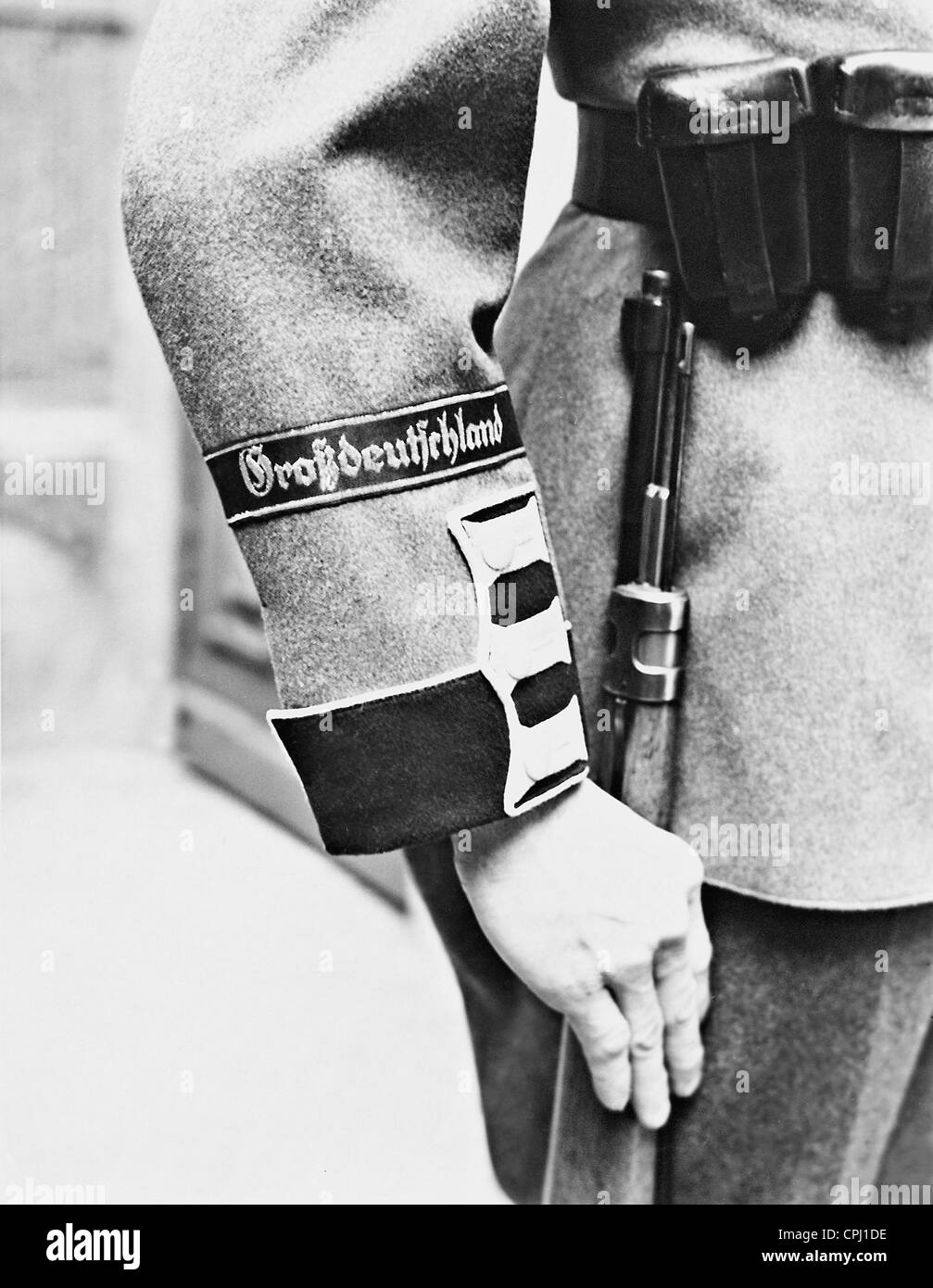 Sleeve band 'Greater Germany', 1939 - Stock Image