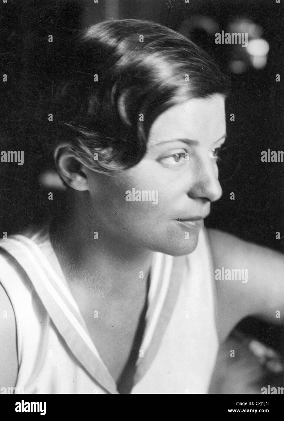 Elly Beinhorn, 1932 - Stock Image