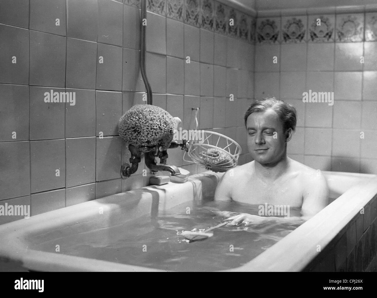 Heinz Ruehmann in 'The man  who was Sherlock Holmes', 1937 - Stock Image