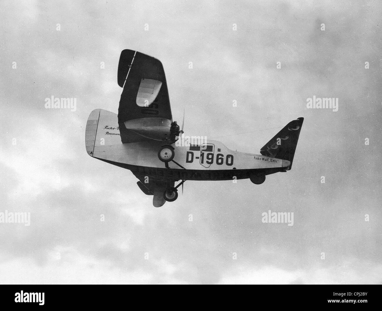 Focke Wulf F-19 'duck' - Stock Image