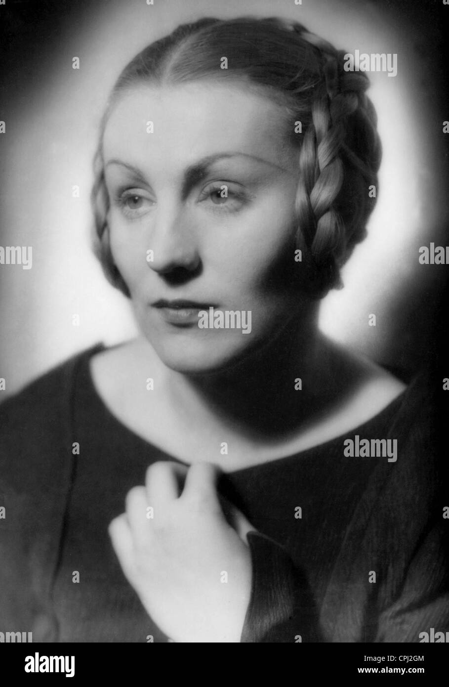 Kaethe Gold in 'Hamlet', 1936 - Stock Image