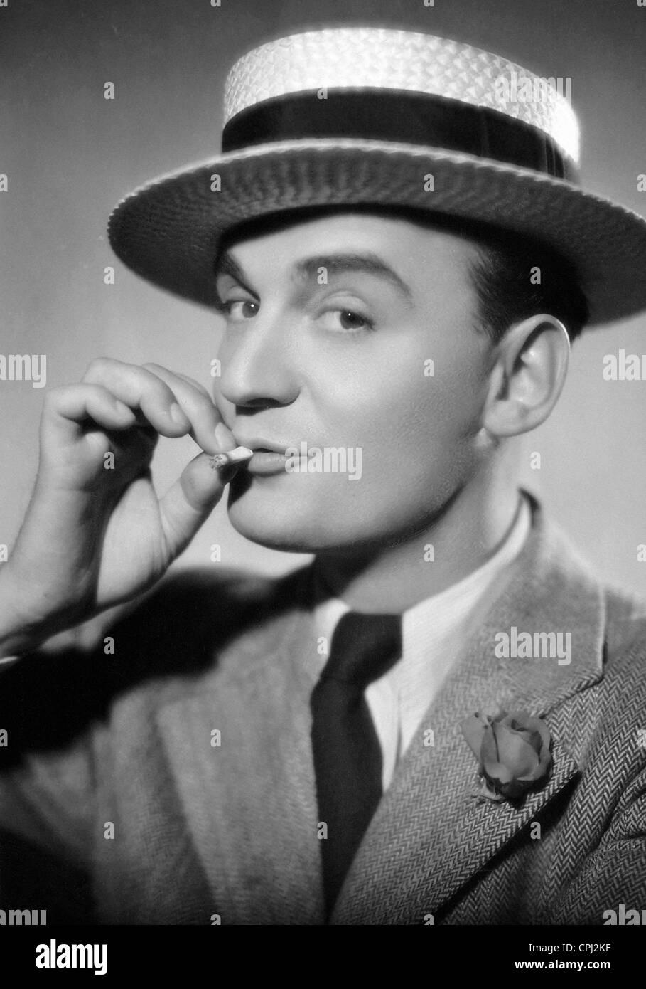 Willi Forst in 'Ihre Durchlaut, die Verkaeuferin', 1933 - Stock Image