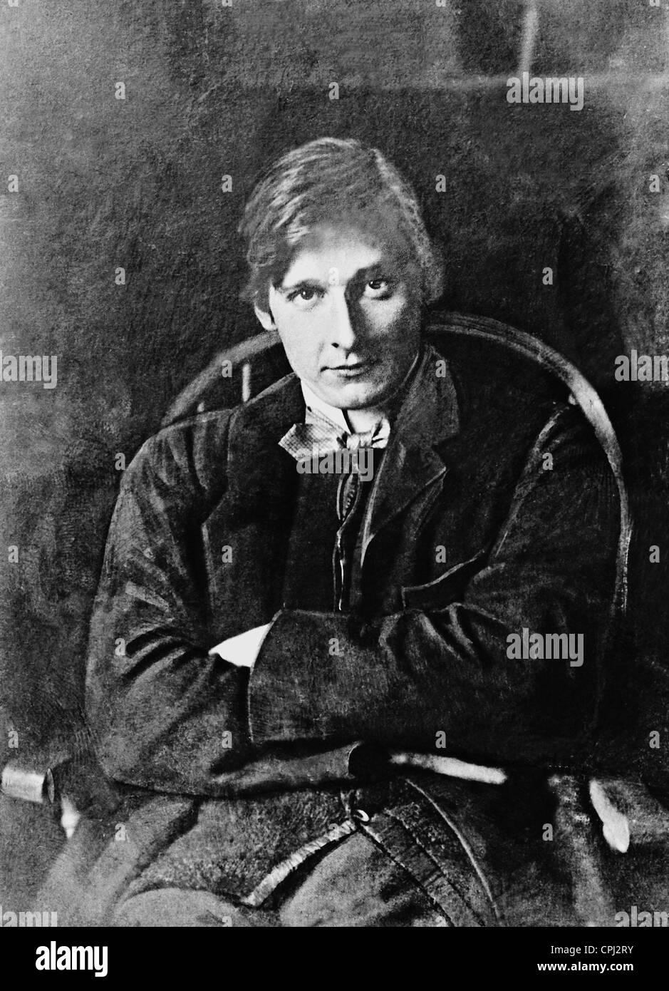 Edward Gordon Craig, 1904 - Stock Image