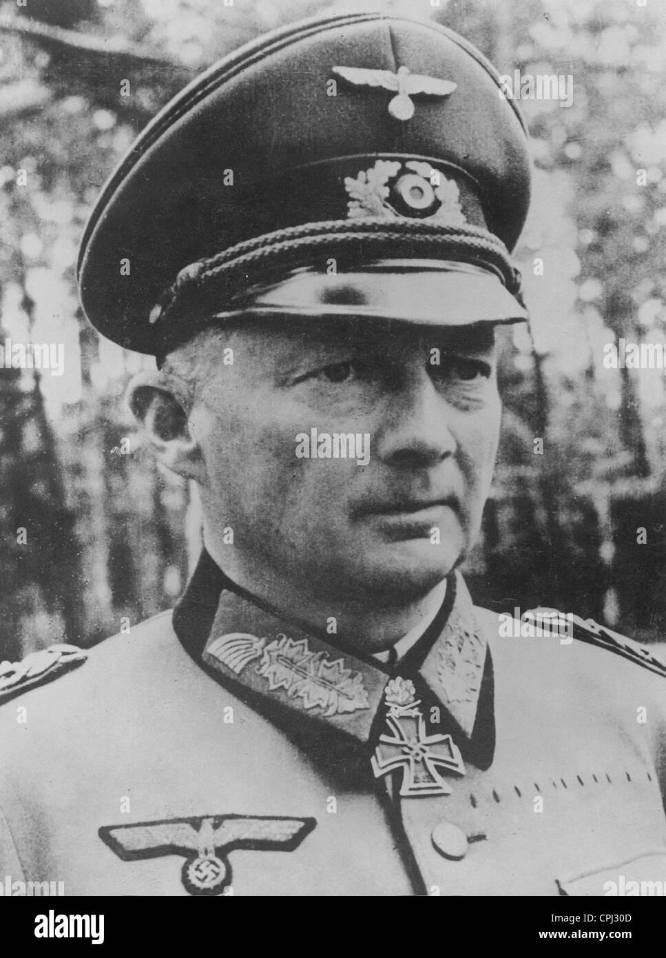 Hans Gunther von Kluge, 1944 - Stock Image