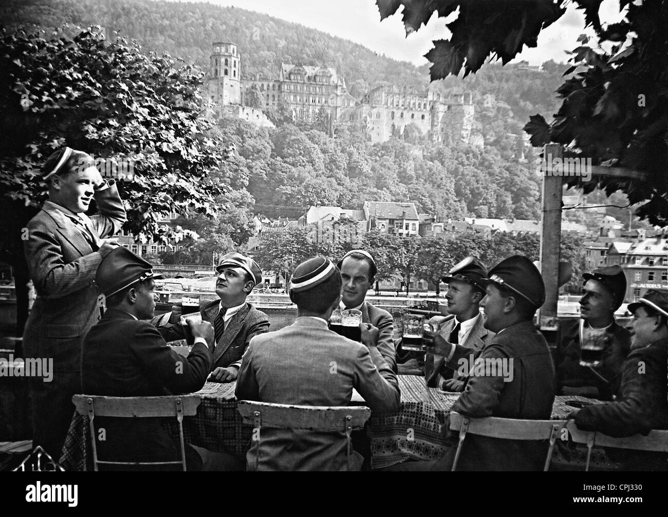 'A boy song from Heidelberg', 1930 - Stock Image